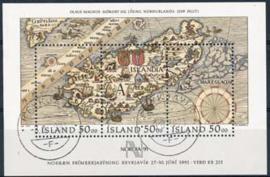 IJsland, michel blok 12, o