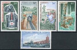 Cameroun, michel 536/40, xx