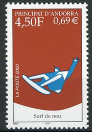 Andorra Fr., michel 548, xx