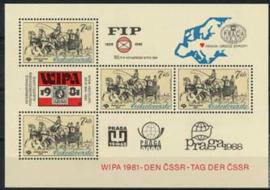 Tsjechoslowakije, michel blok 44, xx