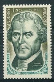 Andorra Fr., michel 276, xx