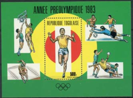 Togo, michel blok 201, xx