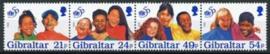 Gibraltar, michel 770/73, xx