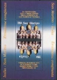 San Marino , michel blok 19 , xx