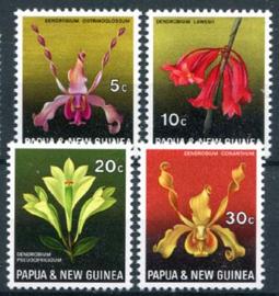 Papua N.Guinea, michel 161/64, xx