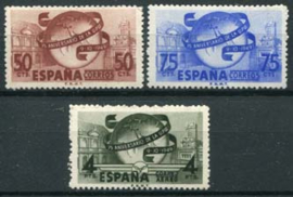 Spanje, michel 969/71, xx