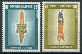 N.Caledonie, michel 870/71, xx