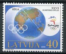 Letland, michel 534 , xx
