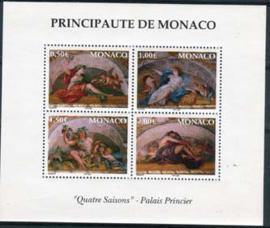 Monaco, michel blok 84, xx