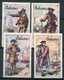 Bahamas, michel 644/47, xx