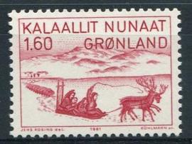 Groenland, michel 128, xx