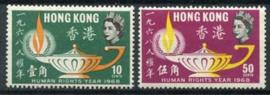 Hong Kong, michel 240/41, xx