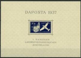 Danzig , michel blok 2 , xx