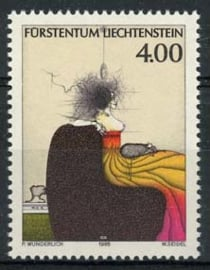 Liechtenstein, michel 1123, xx