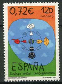 Spanje, michel 3654, xx