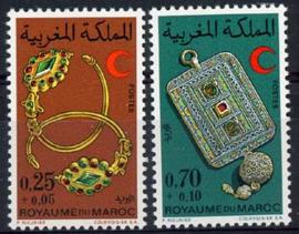 Marokko, michel 703/04, xx