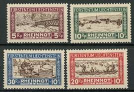 Liechtenstein, michel 78/81, x
