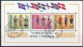 Faroer, michel blok 1 , o