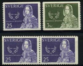 Zweden, michel 540/41,xx
