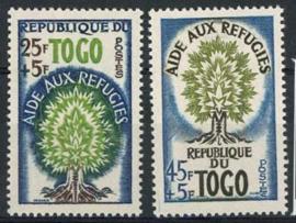 Togo, michel 283/84, xx