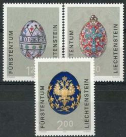 Liechtenstein, michel 1259/61, xx