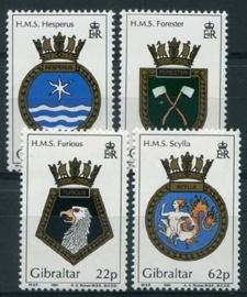 Gibraltar, michel 615/18, xx