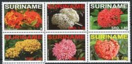 Suriname Rep., michel 2254/59, xx