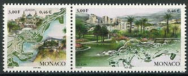 Monaco, michel 2454/55, xx