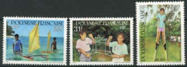 Polynesie, michel 615/17, xx