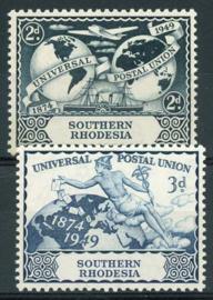 S.Rhodesie, michel 70/71, xx
