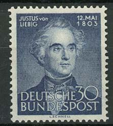 Bundespost, michel 166, xx