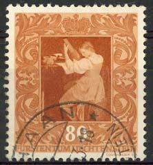 Liechtenstein, michel 274, o