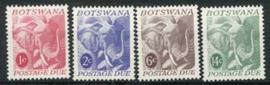 Botswana, michel P 4/7, xx