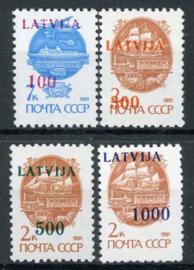 Letland, michel 313/16, xx