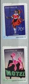 Australie, michel 4349/50 I, xx