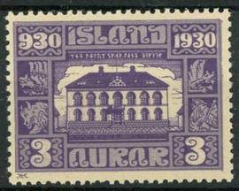 IJsland, michel 125, xx