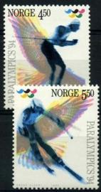 Noorwegen, michel 1152/53, xx