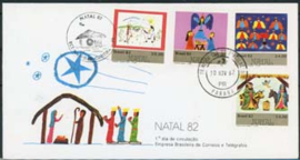Brazilie, FDC michel 1933/36, 1982