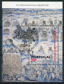 Portugal, michel blok 104, o