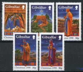 Gibraltar, michel 847/51, xx