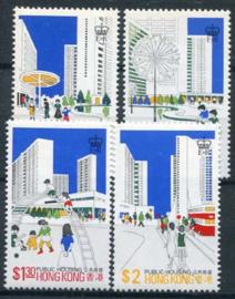 Hong Kong, michel 376/79x, xx