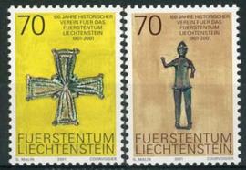 Liechtenstein, michel 1266/67, xx