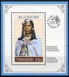 Transkei, michel blok 4, xx