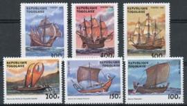 Togo, michel 2948/53,xx