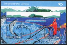 Faroer, michel blok 26, o