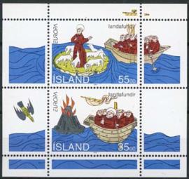 IJsland, michel blok 15, xx