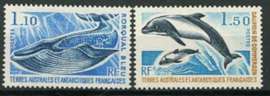 Antarctica Fr., michel 113/14, xx