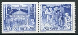 Zweden, michel 1672/73, xx