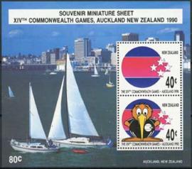 N.Zeeland, michel blok 22 , xx