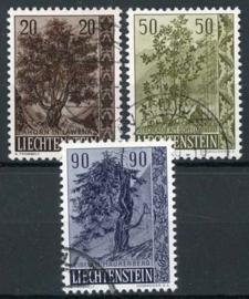 Liechtenstein, michel 371/73, o